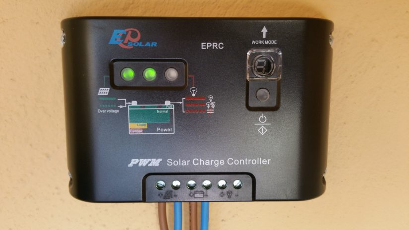 IZ0HCC PWM 10 Ampere Regulator