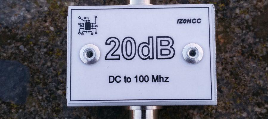 20dB Pad IZ0HCC