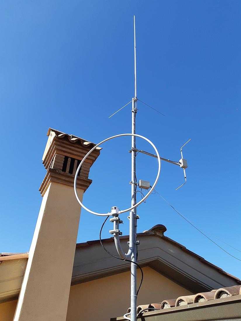 Antenne VHF UHF IZ0HCC
