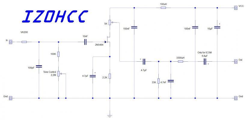 Astatic D104 Silver Eagle Preamplifier IZ0HCC