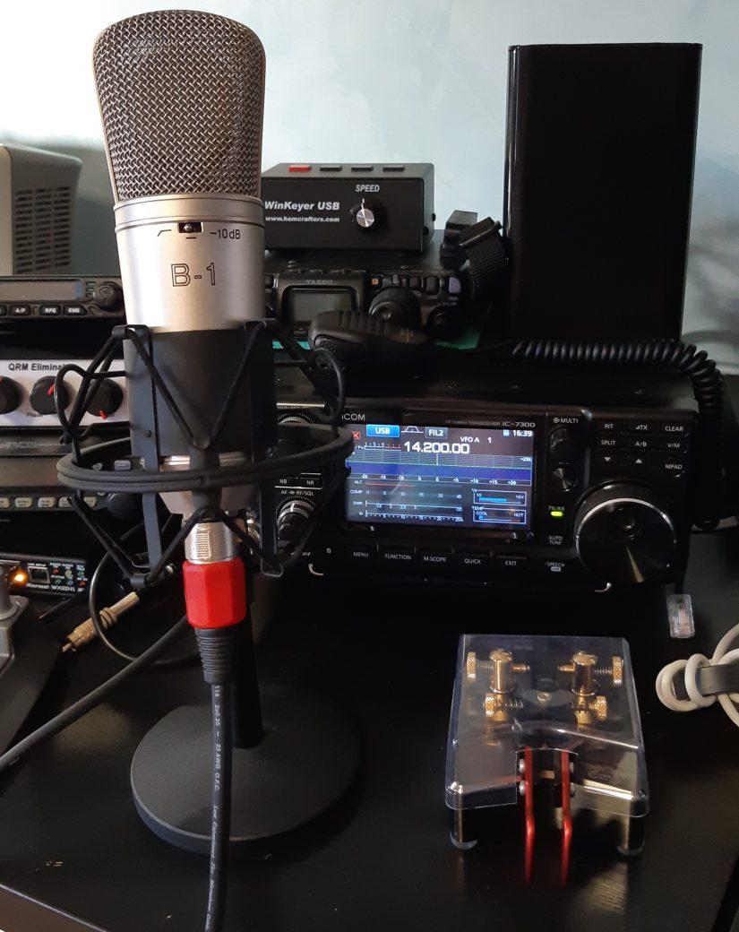 Ceramic SSB Microphone IZ0HCC