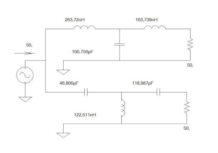 Diplexer SDR Circuit IZ0HCC