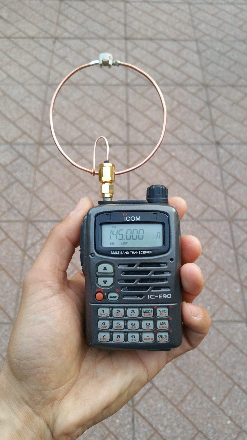 HandHeld VHF Loop IZ0HCC