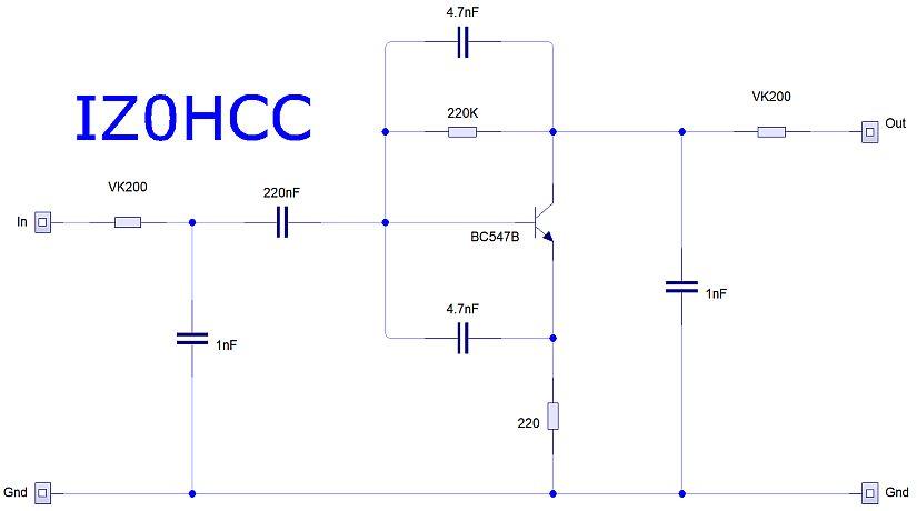 Icom Dynamic Preamplifier IZ0HCC
