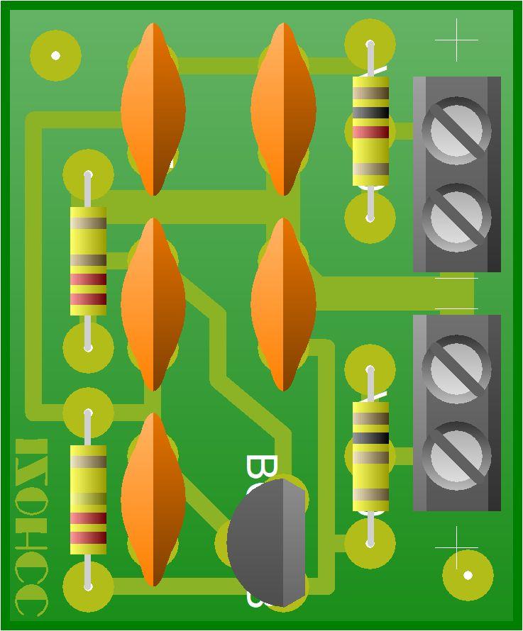 Icom Dynamic Preamplifier Prototipo IZ0HCC