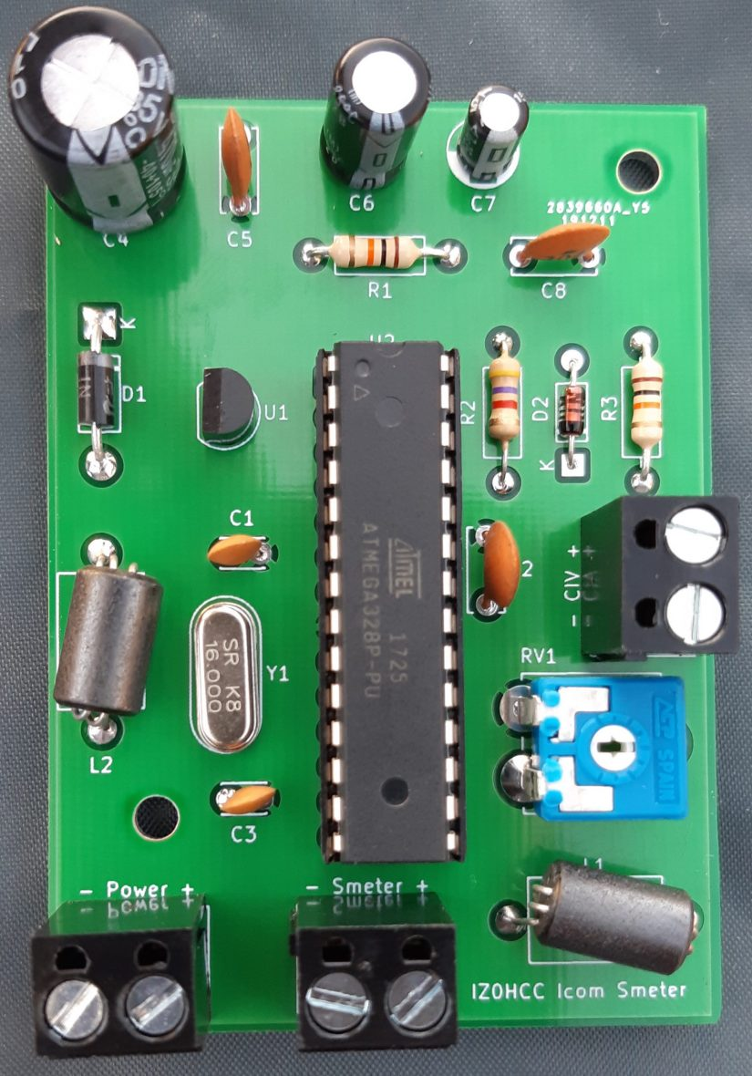 Icom 7300 Smeter IZ0HCC
