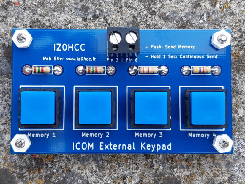 Icom Keypad IZ0HCC