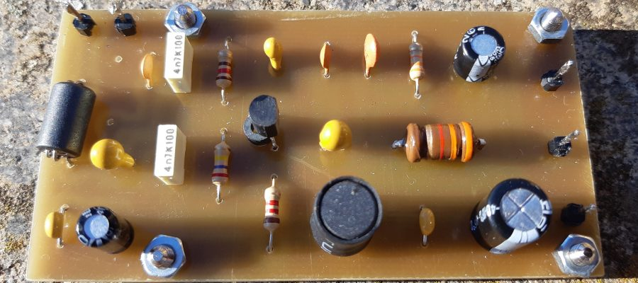 Preamplificatore Microfonico SSB IZ0HCC Board