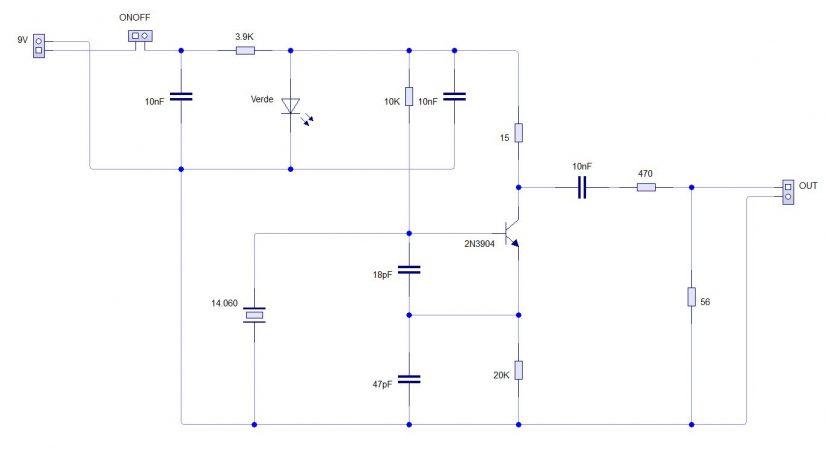 S9 Generator Circuit IZ0HCC