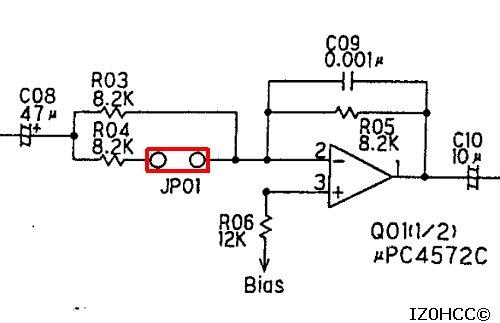 IZ0HCC Modifica MD100a8x