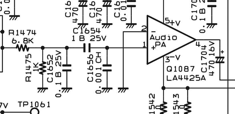 FT1200 Audio Mod Schema Elettrico IZ0HCC