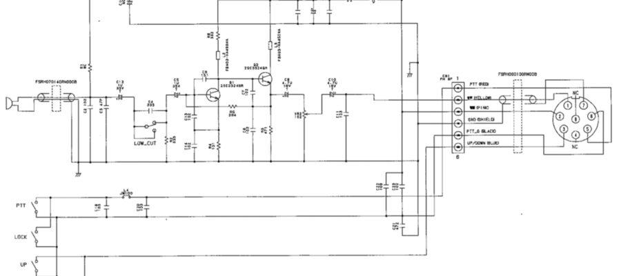 Icom SM-50 Schematic IZ0HCC